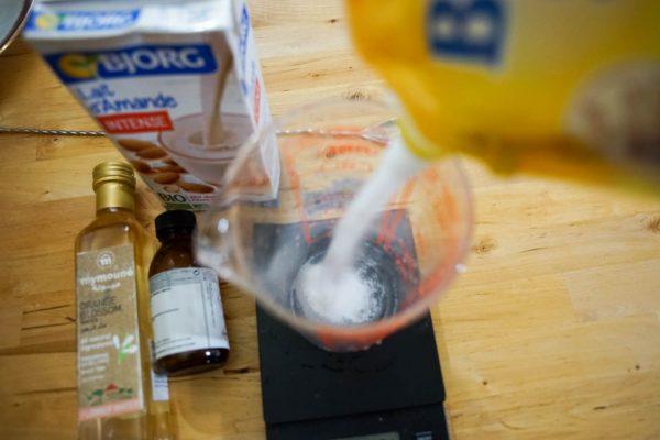 Ajouter le sucre à la recette