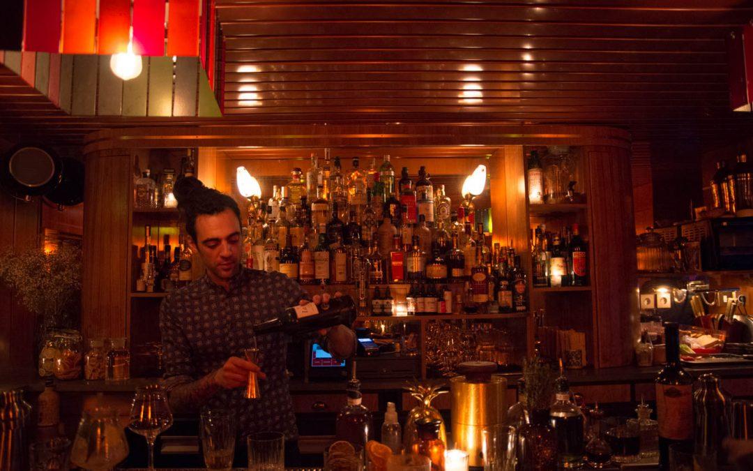 Bluebird bar, retro-california cool à charonne