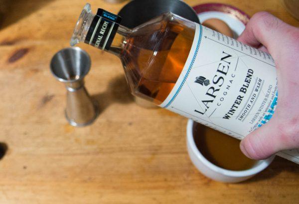 On ajoute le cognac larsen au gyro-flip