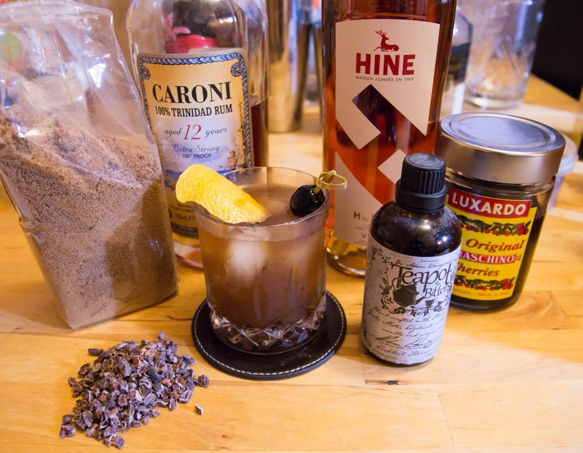 packshot de la recette du colon old fashioned