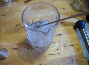 ajouter belle dose de glace pour le dry martini du paysan