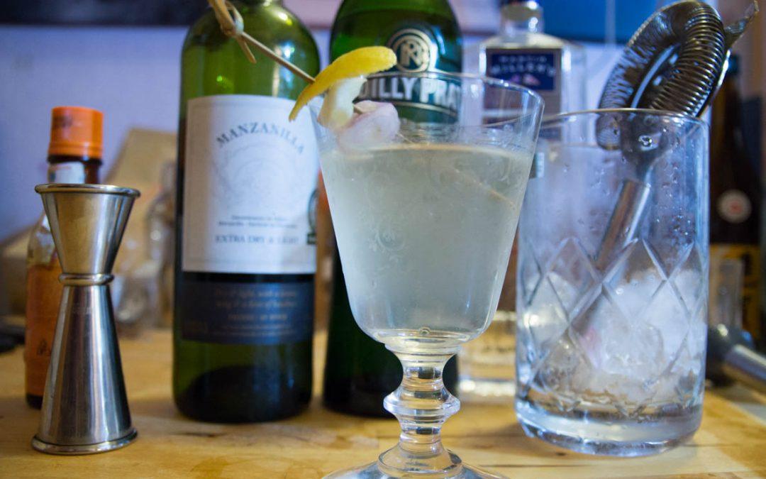 Le Dry Martini du paysan, élégant et relevé à souhait !