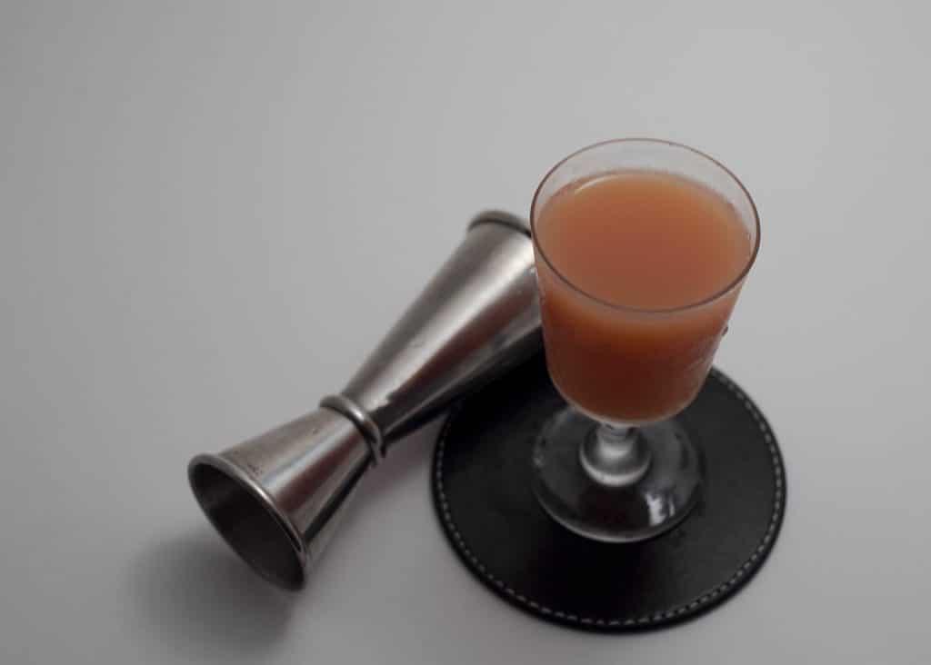 exemple de cocktail Japanese avec sirop d'orgeat
