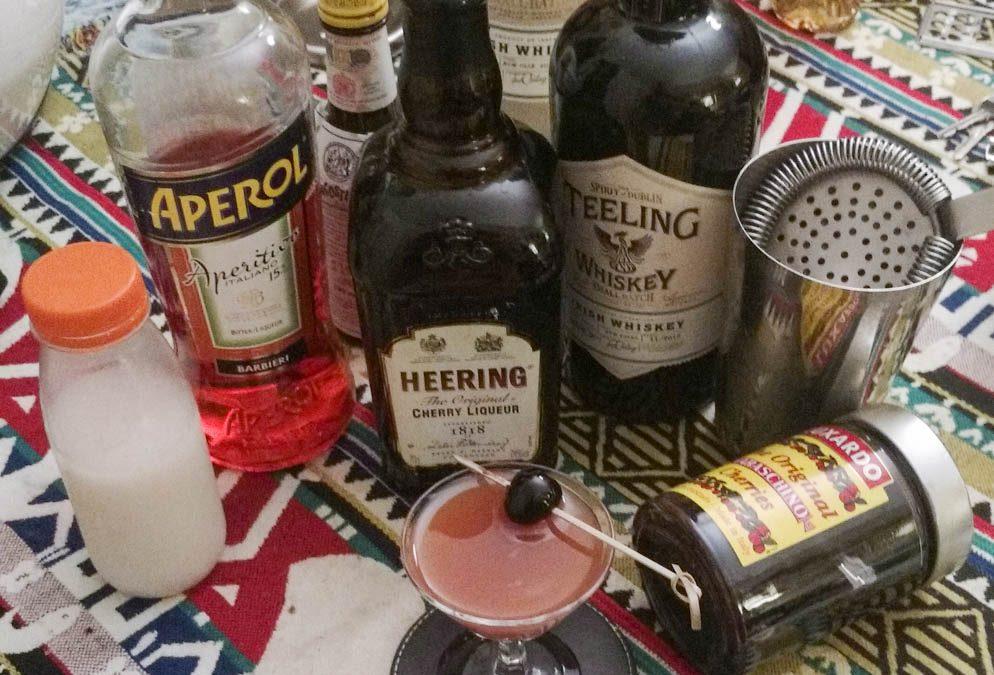 Irish Mermaid Cocktail & comparaison de 2 Teeling Irish whiskey