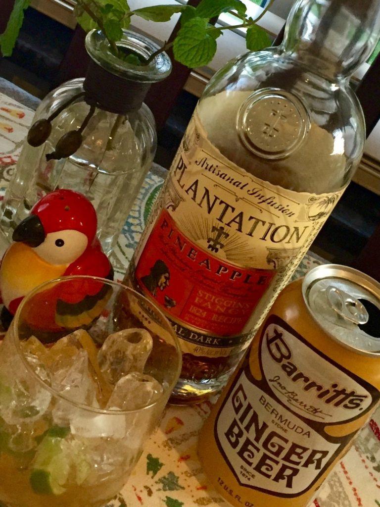 plantation pineapple express avec ginger beer
