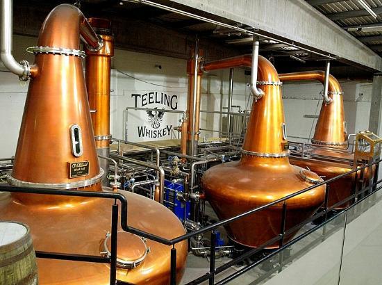 Alambics de Teeling whiskey distillery