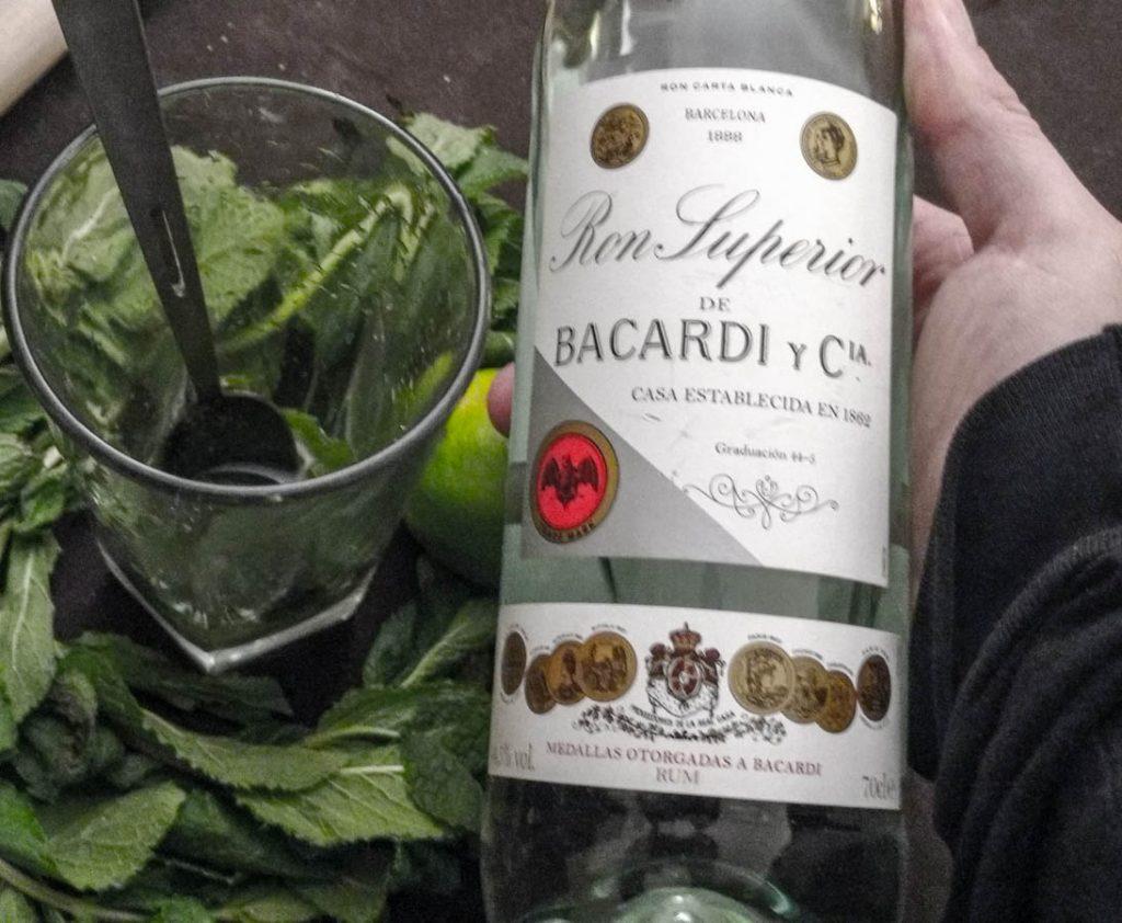 Bacardi Heritage pour le mojito cocktail Colada