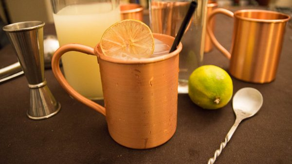 Packshot du moscow mule cocktail