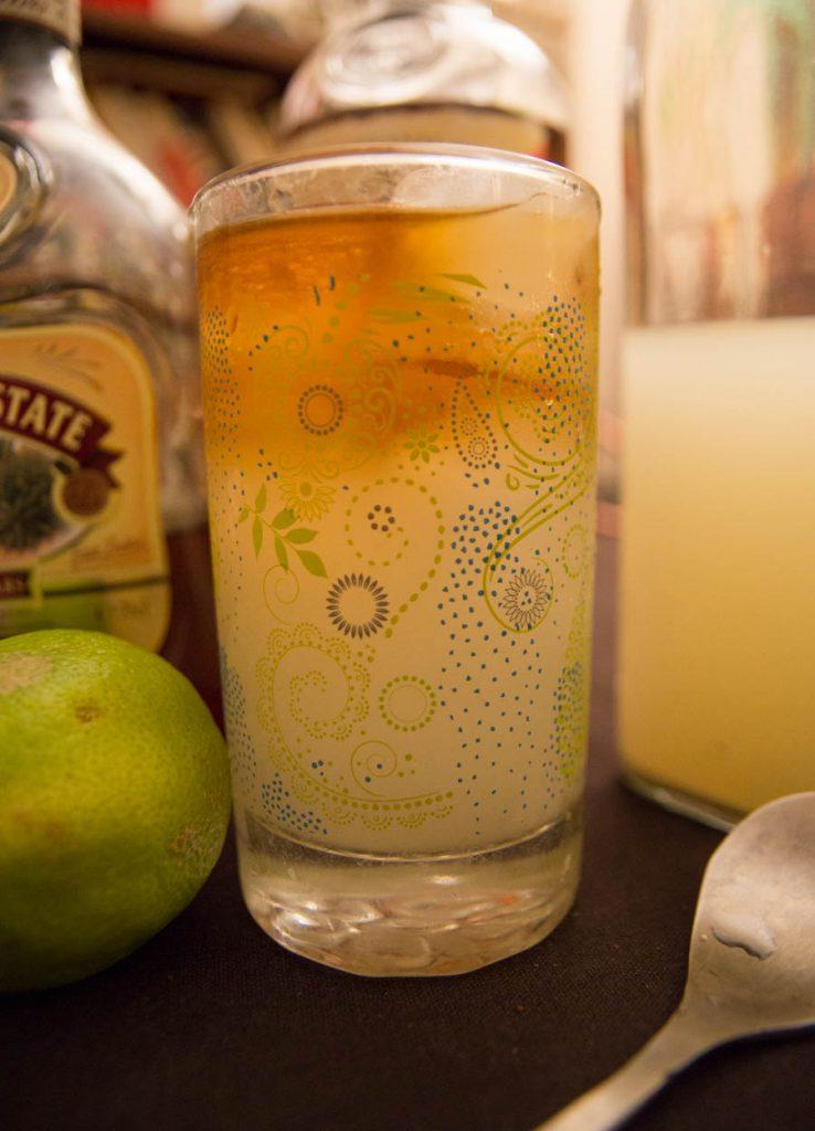 Photo du dark n stormy cocktail