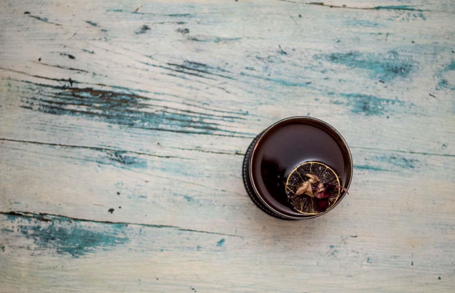 Belle photo de sea of cortez cocktail à base de tequila