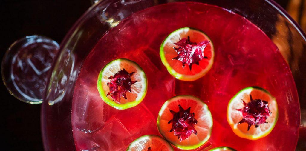 punch joli recette multi couleur cocktail