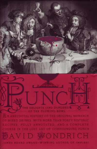livre punch par david wondrich