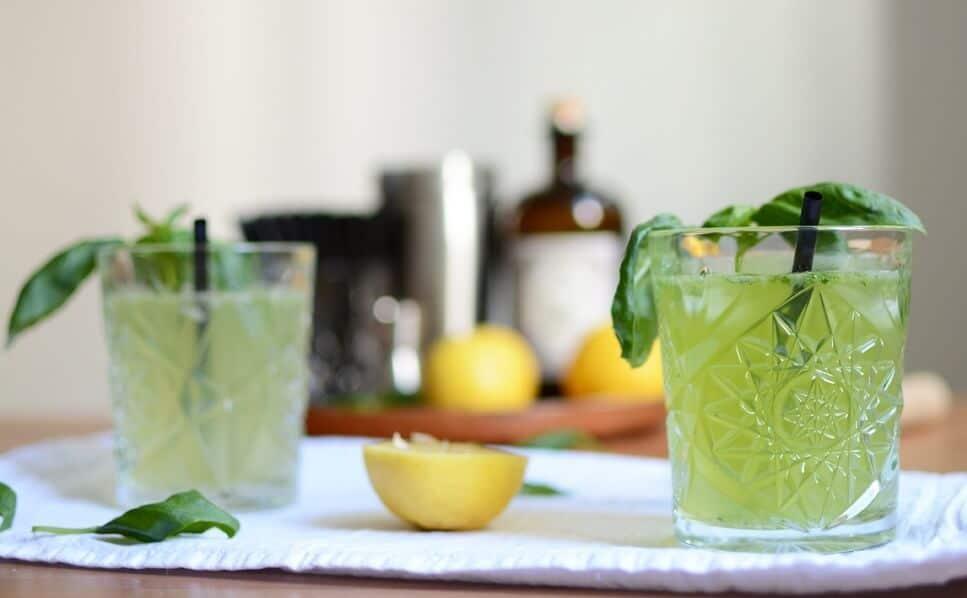 Cocktail avec du basilic recette colada
