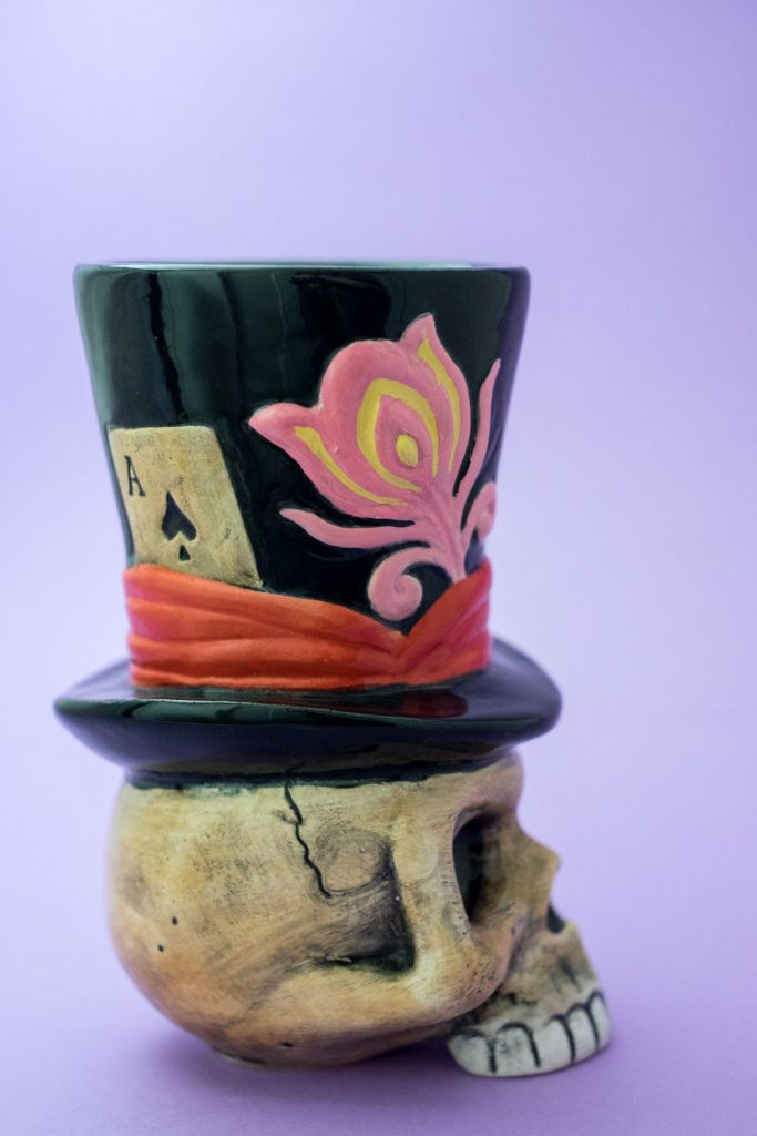 Baron Samedi Tiki mug par BaÏ pour Colada