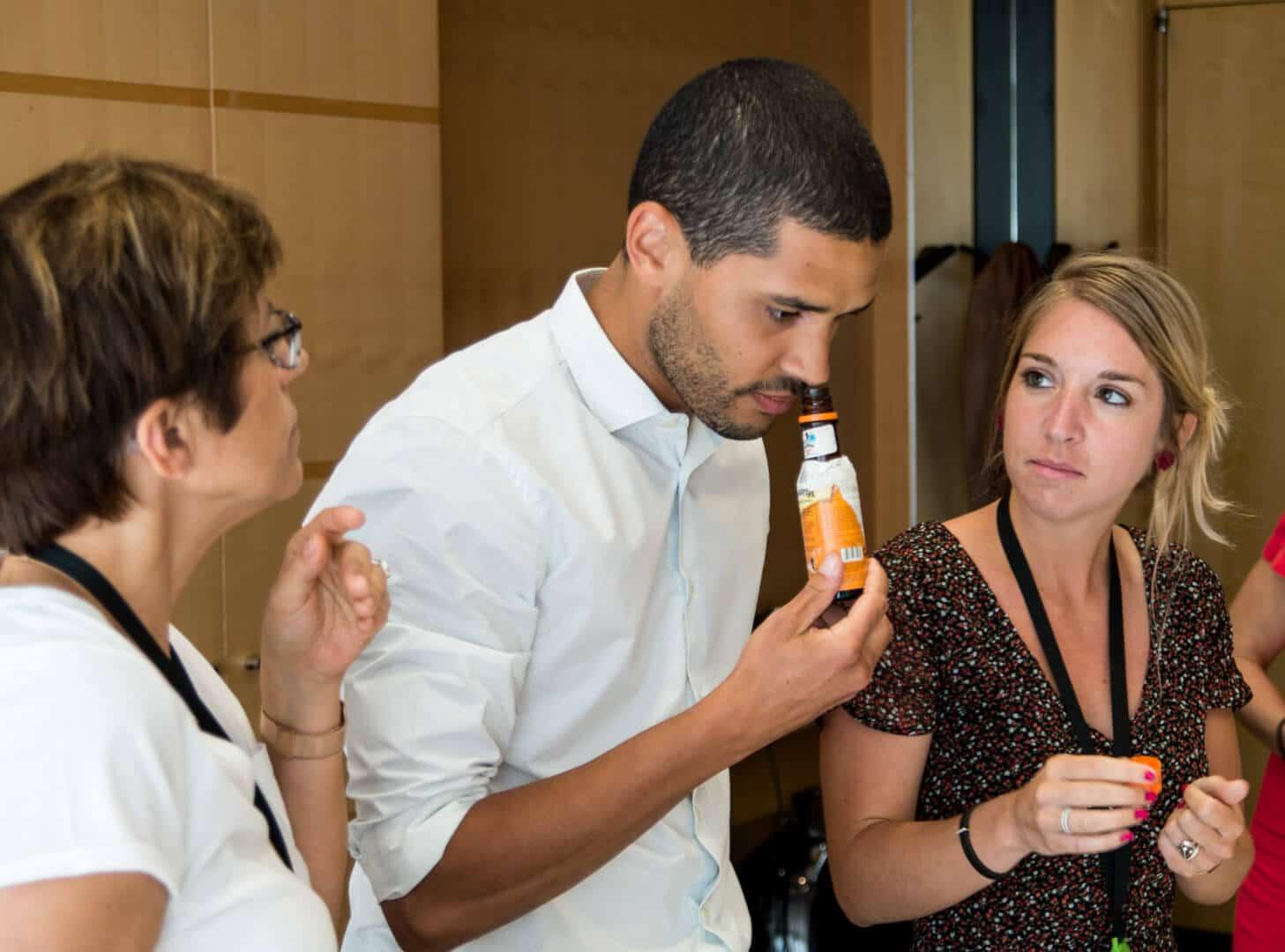 Deloitte en atelier sensibilisation au handicap cocktail Colada