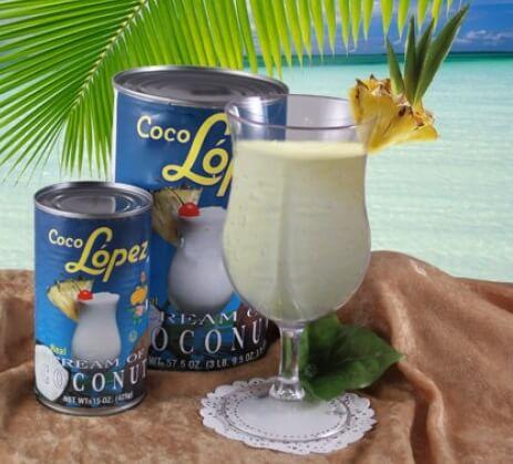 la coco lopez pour la pina colada originale