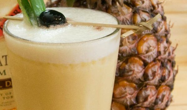 pina colada authentique cocktail recette