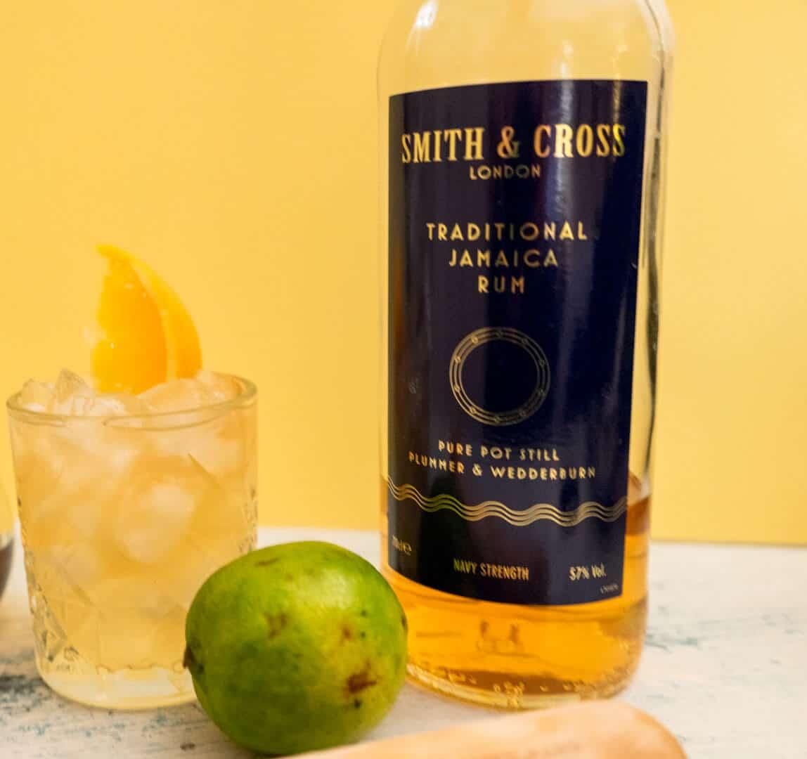 recette planter's punch colada avec bouteille smith & cross