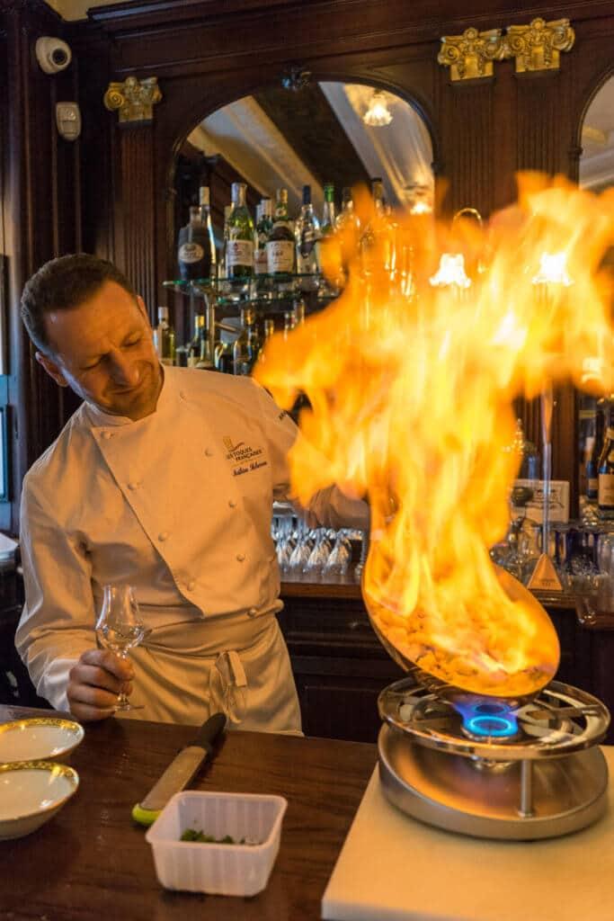 la cuisine en flamme du gallopin