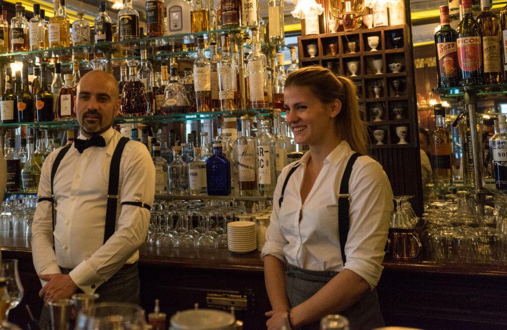 l'équipe du gallopin pour la partie cocktails
