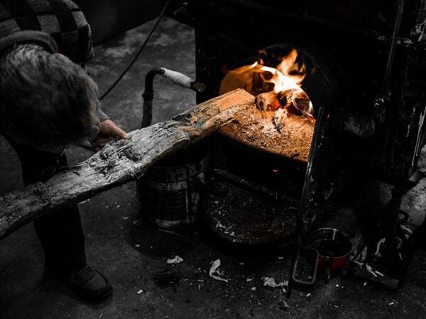 l'alambic à feu nu, Domaine de charron