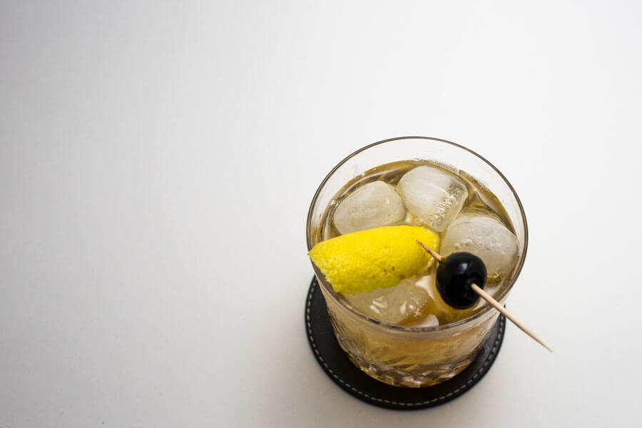 old fashioned cocktail vu du dessus recette colada