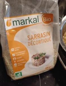 sarrasin pour sobacha, recette colada