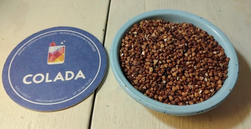 graine de sarrasin transformées en sobacha avec recette colada