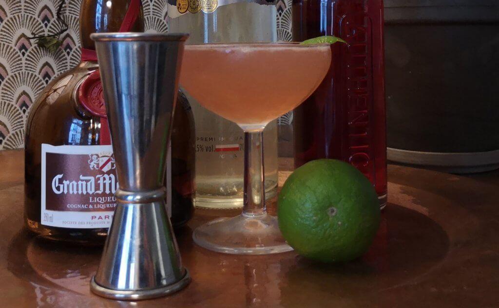 focus sur le véritable cosmopolitan cocktail
