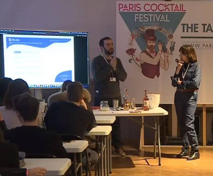 Conférence Paris cocktail festival Colada