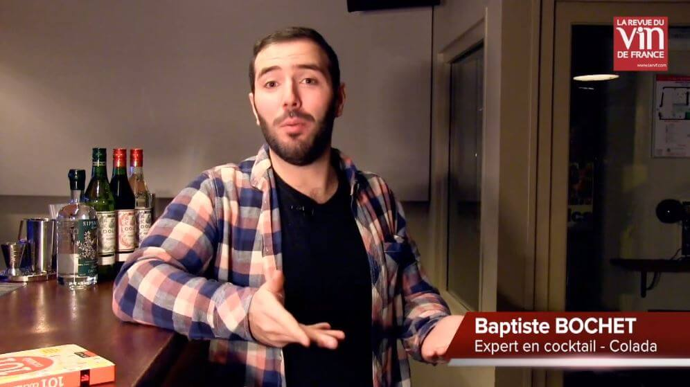 Photo de Baptiste pour les vidéos Cocktail de la RVF